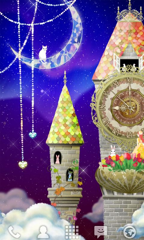 magical clock tower LWallpaper - screenshot