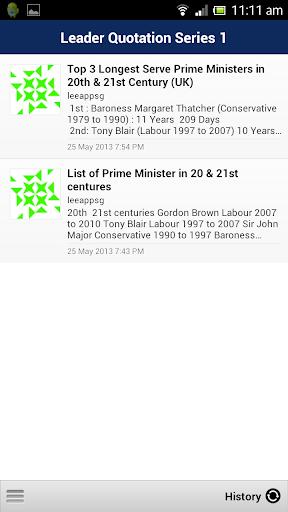 玩書籍App|Leader Quotation Series 1免費|APP試玩