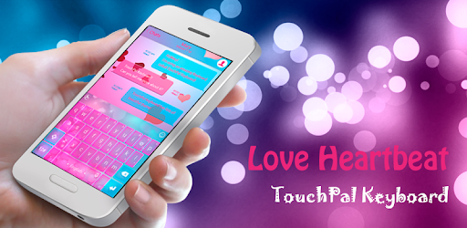 54d9f9b7bd1 TouchPal Love Heartbeat Theme – Aplikacje w Google Play