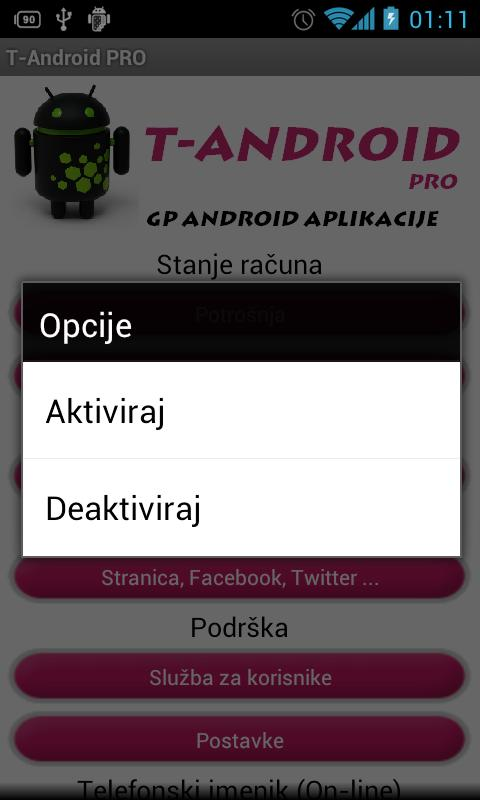 T-Android PRO - screenshot