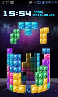 3D RainbowSquare Locker Theme - screenshot thumbnail