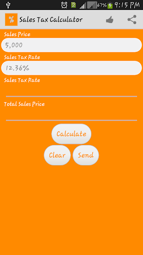 Sales Tax VAT Calculator