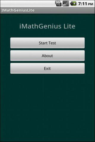 iMathGeniusLite - screenshot