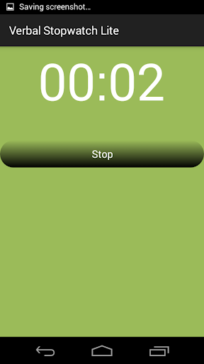 玩免費健康APP|下載Verbal Stopwatch Lite app不用錢|硬是要APP