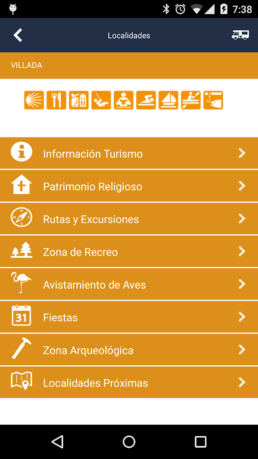Mobile homes Tourism Palencia- screenshot
