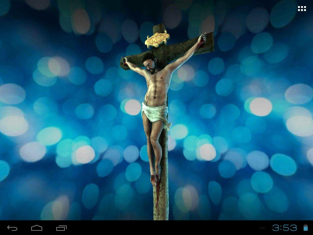 3d jesus christ live wallpaper android apps on google play