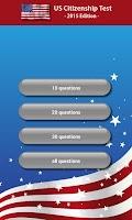 Screenshot of US Citizenship Test 2015
