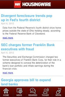 HousingWire - screenshot thumbnail