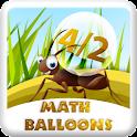 Math Balloons logo