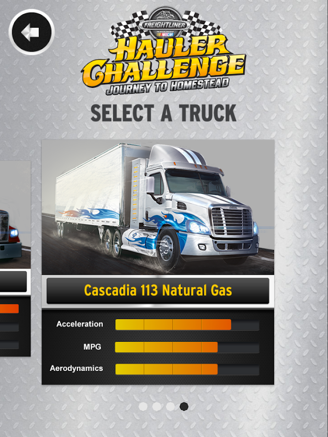 Hauler Challenge- screenshot