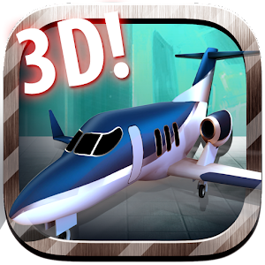 3D Jet Parking Simulator for PC and MAC