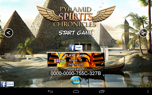 Pyramid Spirits 3 - Slots - screenshot thumbnail