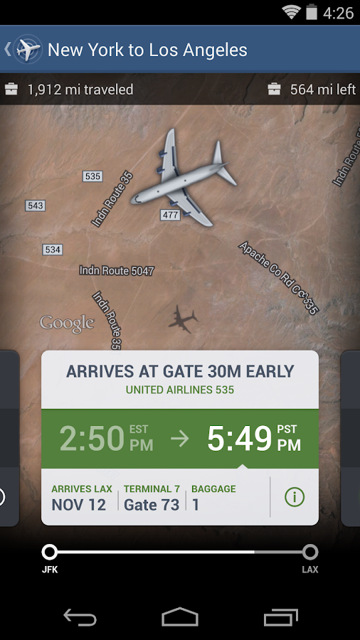 FlightTrack 5- screenshot