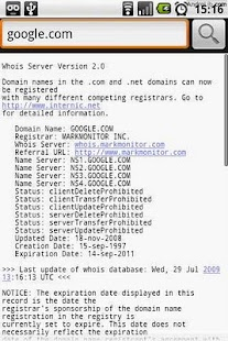 Whois- screenshot thumbnail