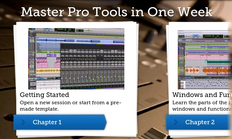 Master Pro Tools in One Week - screenshot
