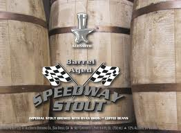 Logo of Alesmith Barrel Aged Speedway Stout