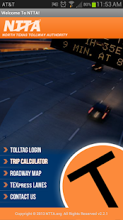 NTTA Tollmate® - screenshot thumbnail