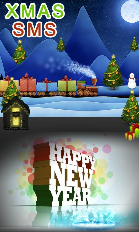 Christmas & New Year SMS - screenshot