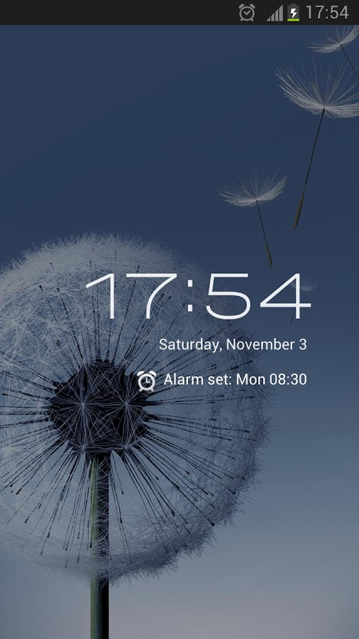Clock ICS - screenshot