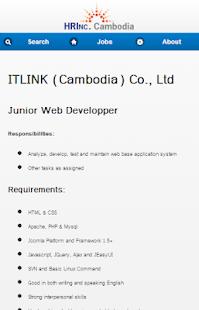 免費社交APP】JOBS @ HRINC - CAMBODIA|線上玩APP不花錢-硬是要APP