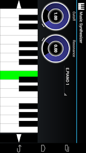 Music Synthesizer for Android - screenshot thumbnail