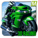 Real Motor Bike Racing 3d icon