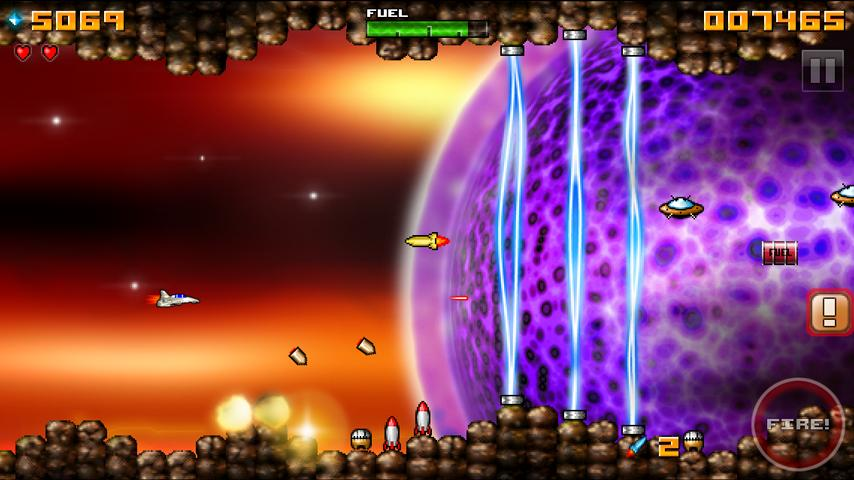 Jet Space - screenshot
