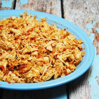 Easy Slow Cooker Salsa Chicken.