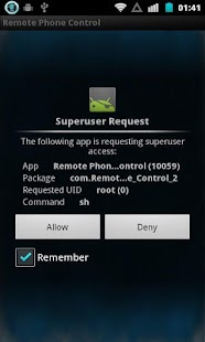 Remote Phone Control Lite - screenshot thumbnail