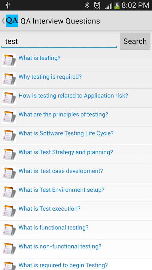 QA Interview Questions- screenshot