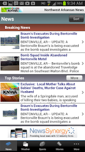 KNWA Northwest Arkansas News - screenshot thumbnail