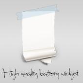 Paper Battery Widget
