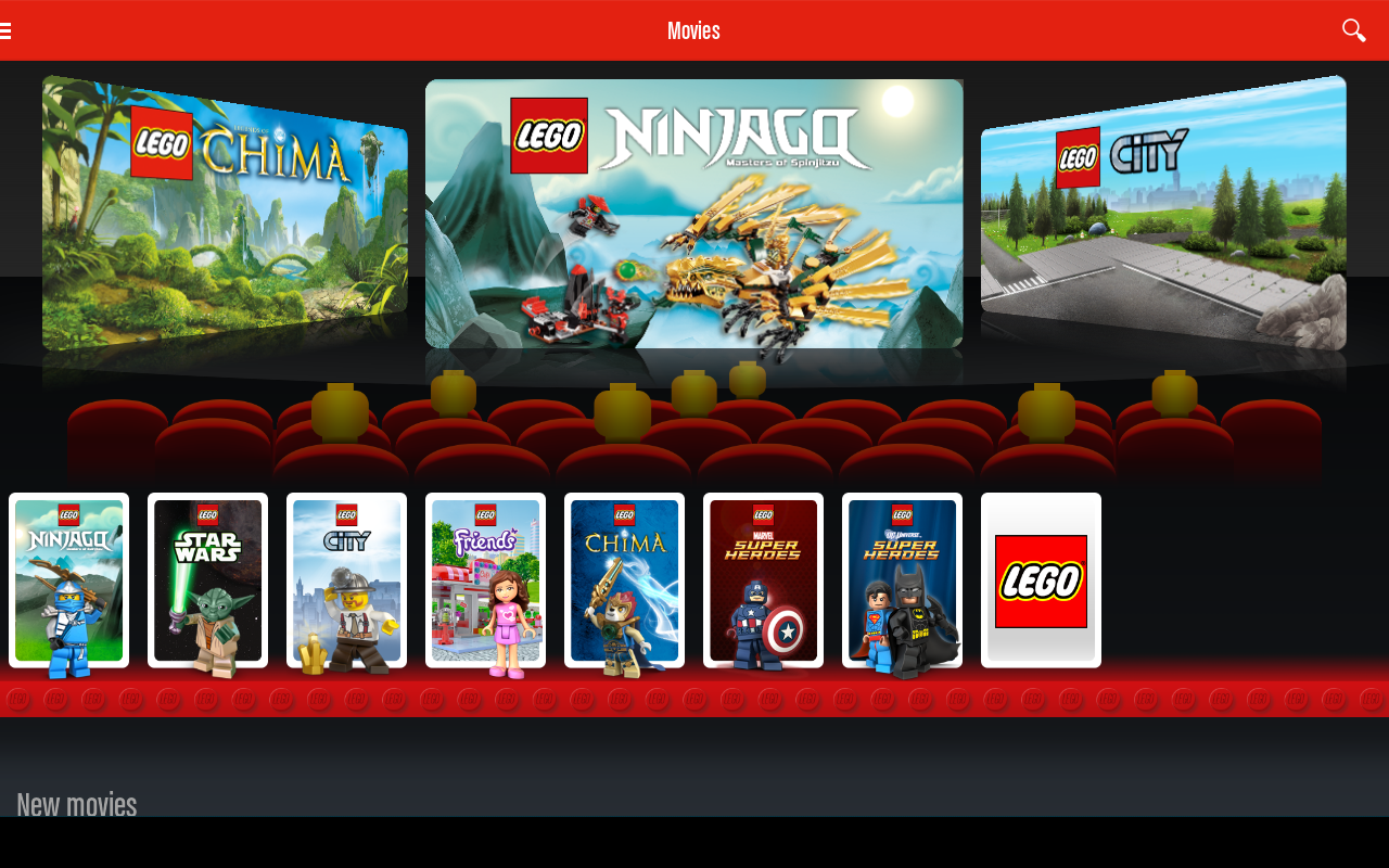 LEGO® TV - screenshot