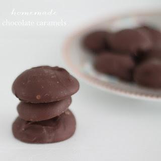 Chocolate Wine Caramels