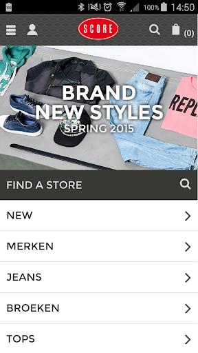 Score shop - Jeans store