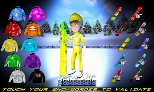 Snowboard Racing Ultimate v1.0