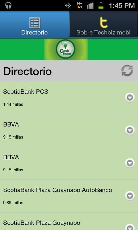 Cashfinder - screenshot