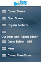 Screenshot of Our Dogs
