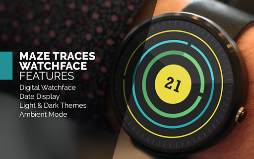 Maze Traces Watch Face