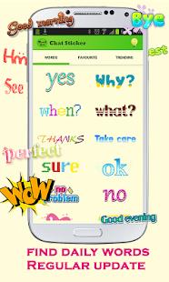 WordArt Chat Sticker for C- screenshot thumbnail