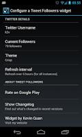 Screenshot of Tweet Followers