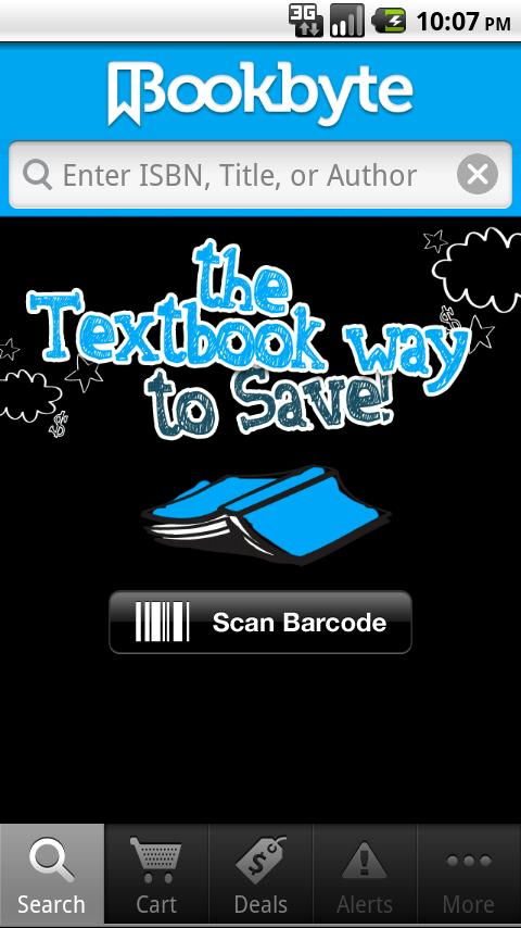 Bookbyte - screenshot