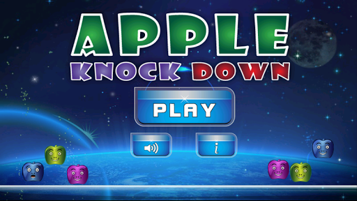 Apple Slingshot Knockdown