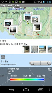 Tiny Travel Tracker - Free- screenshot thumbnail