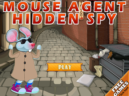 Mouse Agent: Hidden Spy Barrel