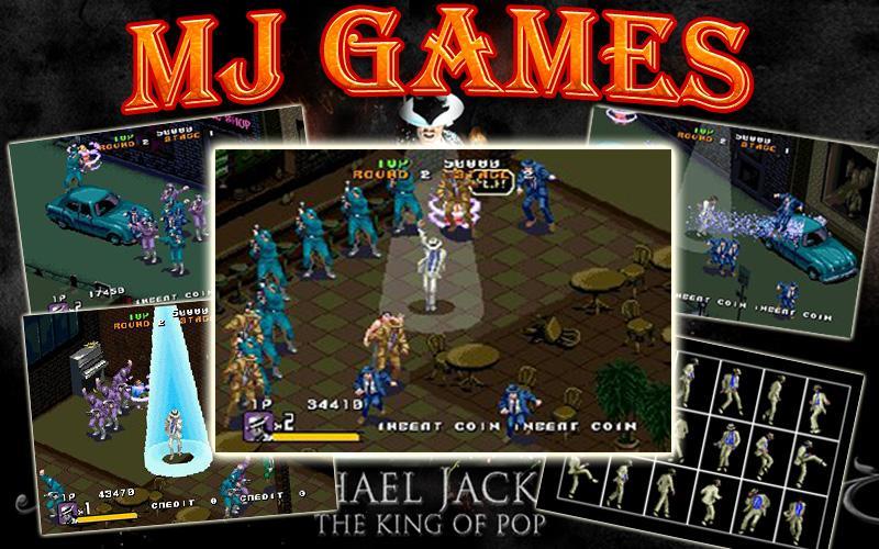Dance games Michael Jackson - Android - 90.7KB