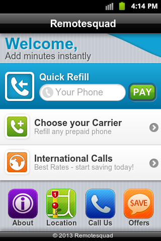Prepaid Cell Phone Payments