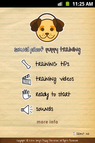 Sound Proof Puppy Training