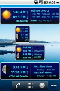 LunaSolCal Widgets- screenshot thumbnail