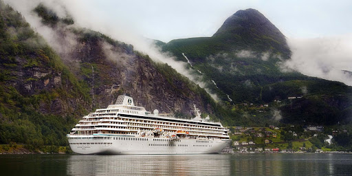 Crystal-Symphony_NorthCape_Geiranger_06 - Visit the timeless Nordic village of Geiranger when you sail on Crystal Symphony.